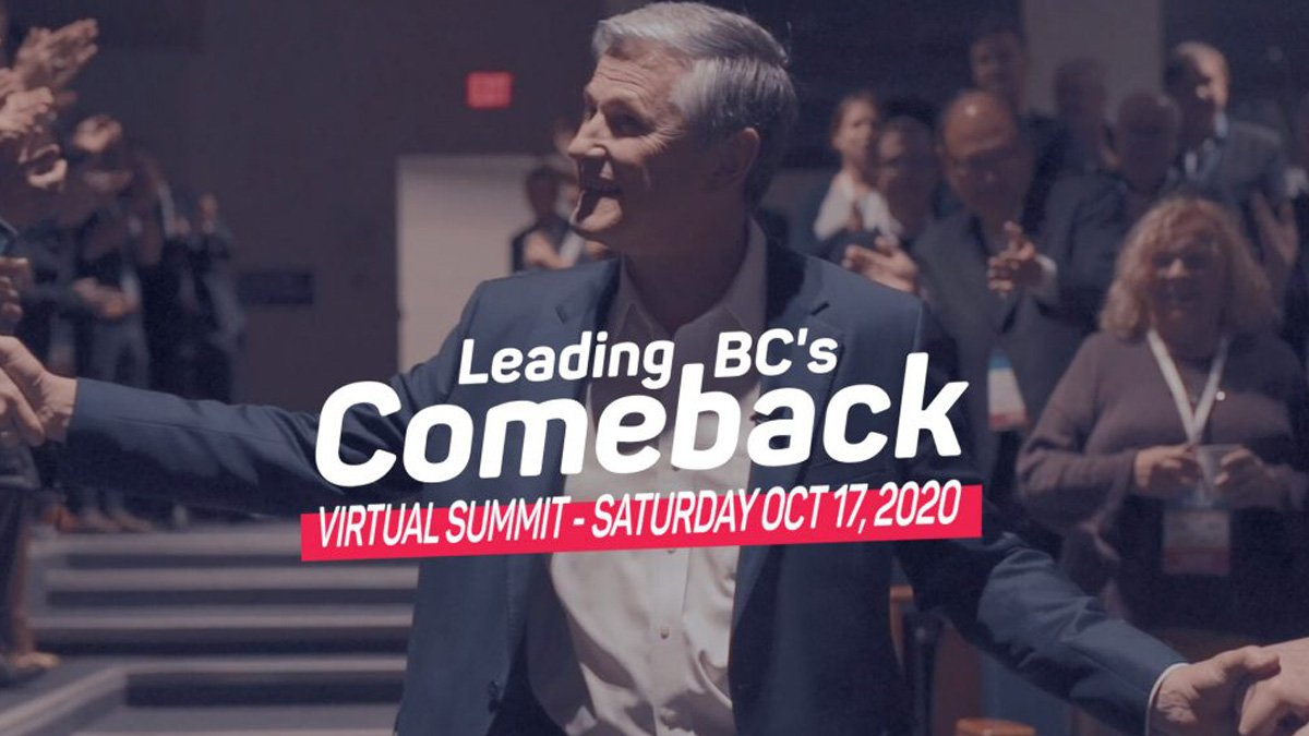 BC's Liberal Convention - Virtual Summit 2020