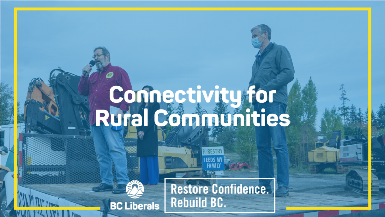 BC Liberals commit to improving internet and mobile connectivity for rural communities