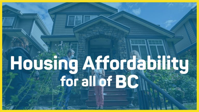 Housing Affordability for all of BC